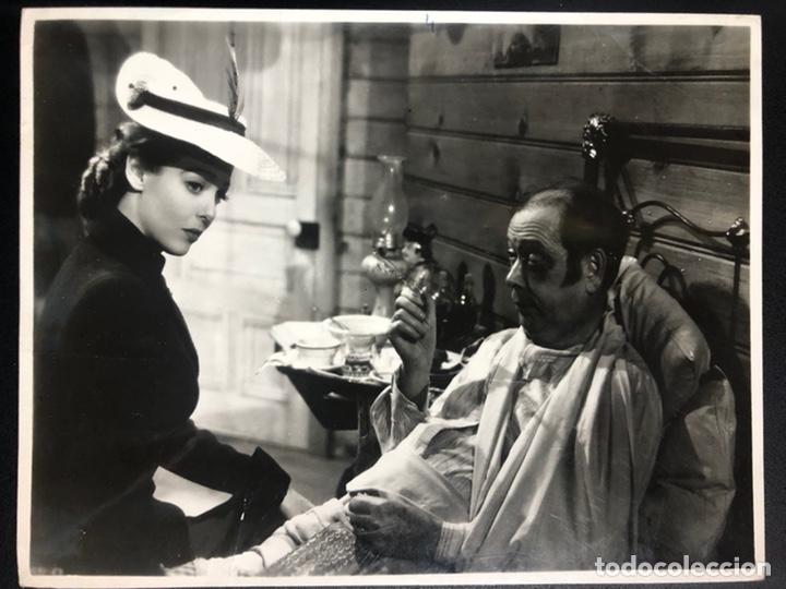 FOTO ORIGINAL DE LORETTA YOUNG.UNA MUJER DE CARÁCTER 18 X 23 CM (Cine - Fotos y Postales de Actores y Actrices)