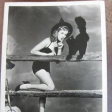 Cine: HOLLYWOOD FILM ACTRESS - FOTO ORIGINAL B/N - UNIVERSAL INTERNATIONAL PICTURES. Lote 253626355