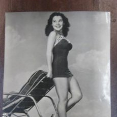Cine: HOLLYWOOD FILM ACTRESS - FOTO ORIGINAL B/N - UNIVERSAL INTERNATIONAL PICTURES SWIMSUIT. Lote 253628585