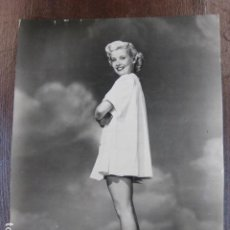 Cine: HOLLYWOOD FILM ACTRESS - FOTO ORIGINAL B/N - UNIVERSAL INTERNATIONAL PICTURES. Lote 253628655
