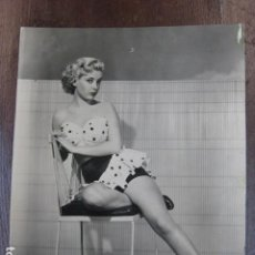Cine: HOLLYWOOD FILM ACTRESS - FOTO ORIGINAL B/N - UNIVERSAL INTERNATIONAL PICTURES. Lote 253628790