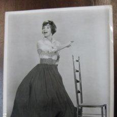 Cinéma: FILM ACTRESS - FOTO ORIGINAL B/N - DANCING - CHAIR. Lote 254791900