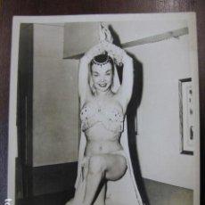 Cinéma: FILM ACTRESS - FOTO ORIGINAL B/N - WARNER BROS PICTURES EXOTIC DANCER. Lote 254792955