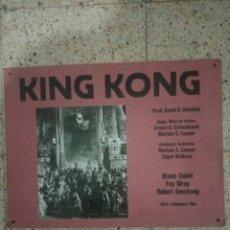 Cine: FOTOCROMO ORIGINAL KING KONG. Lote 255025965
