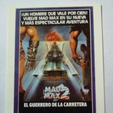 Cine: PO355. TARJETA POSTAL. 28. MAD MAX 2 EL GUERRERO DE LA CARRETERA. Lote 255551515