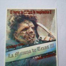 Cine: PO361. TARJETA POSTAL. 269 LA MATANZA DE TEXAS III. Lote 255554180