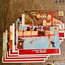 Cine: COMPLETA 12 FOTOCROMOS DE LA ISLA DEL FIN DEL MUNDO DE DISNEY. Lote 256048755