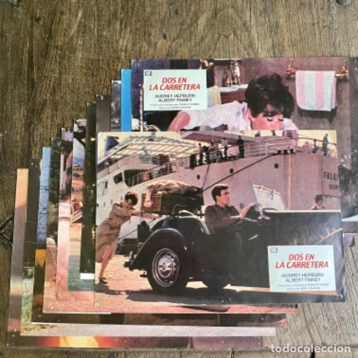 COMPLETA 12 FOTOCROMOS DE DOS EN LA CARRETERA DE AUDREY HEPBURN Y ALBERT FINNEY (Cine - Fotos, Fotocromos y Postales de Películas)
