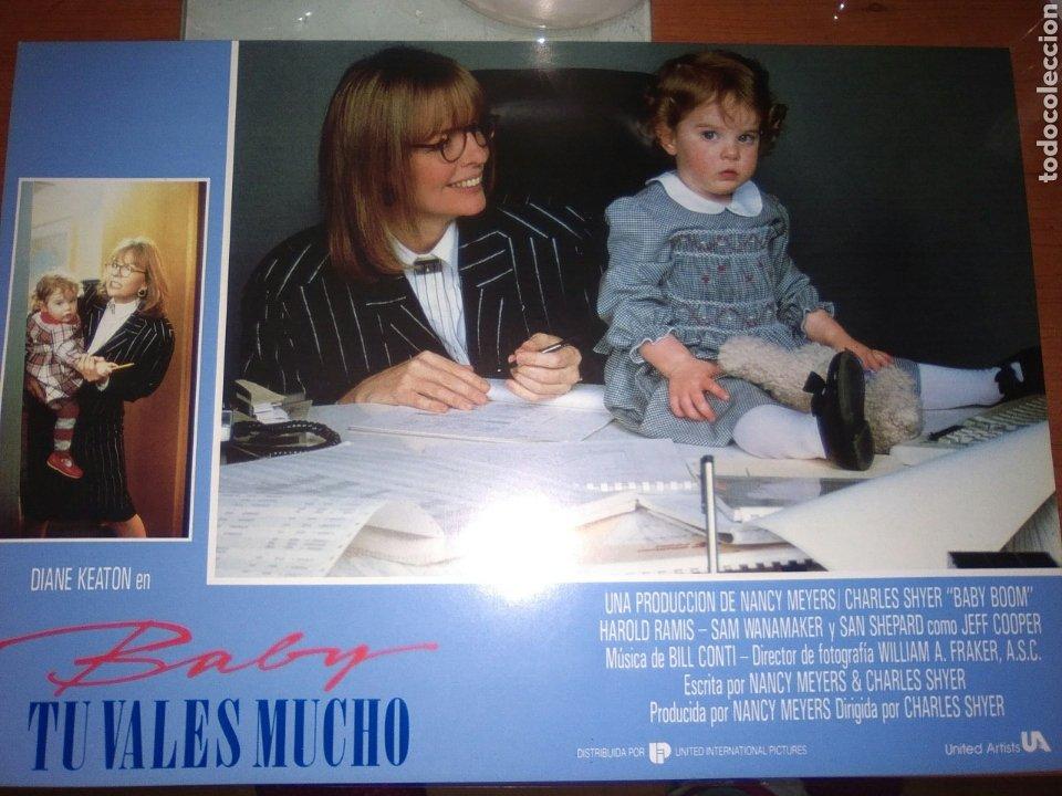 BABY TU VALES MUCHO-SET COMPLETO 12 UNIDADES ESTRENO-DIANE KEATON-LOBBY CARDS (Cine - Fotos, Fotocromos y Postales de Películas)