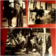 Cine: 5 FOTOGRAFÍAS GILA EN LA PELÍCULA 5 PISTOLAS DE TEXAS 1965 GRAN FORMATO. Lote 257489440