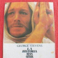 Cine: RECORTE DE REVISTA: LA HISTORIA MAS GRANDE JAMAS CONTADA. MAX VON SYDOW, JOHN WAYNE. Lote 260377585