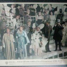 Cine: FOTO ORIGINAL AUDREY HEPBURN, MY FAIR LADY, 20X25. Lote 260599690