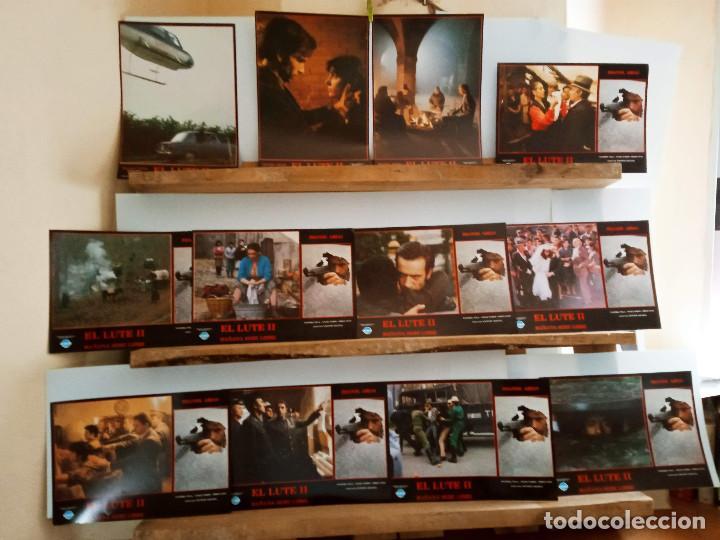 EL LUTE II: MAÑANA SERÉ LIBRE. IMANOL ARIAS, JORGE SANZ, 12 FOTOCROMOS ORIGINALES (Cine - Fotos, Fotocromos y Postales de Películas)