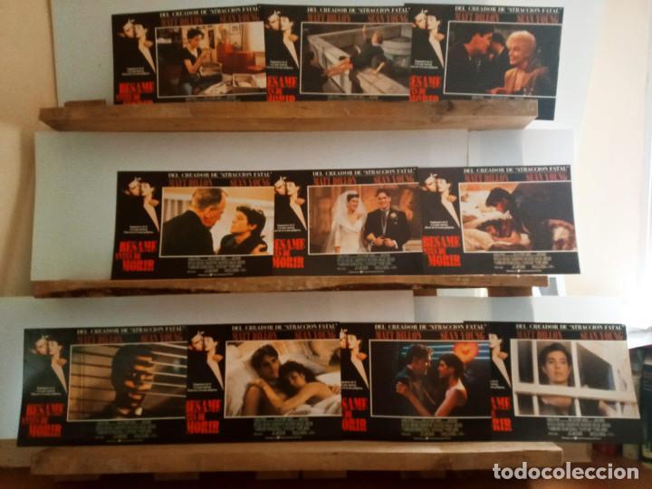 BÉSAME ANTES DE MORIR. MATT DILLON, SEAN YOUNG 10 FOTOCROMOS ORIGINALES (Cine - Fotos, Fotocromos y Postales de Películas)