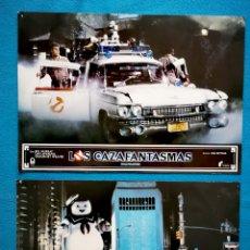 Cinema: CAZAFANTASMAS - 2 FOTOCROMOS. Lote 261232605