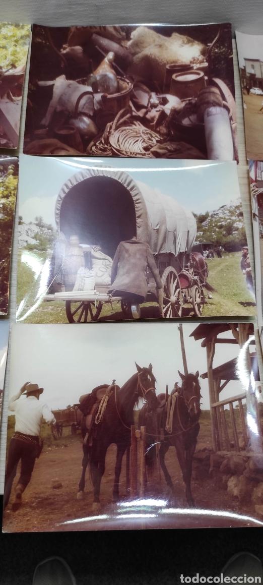 Cine: 24 fotografías rodaje Wester La hora de las pistolas 1968 actores, escenas, atrezzo - Foto 7 - 261927625