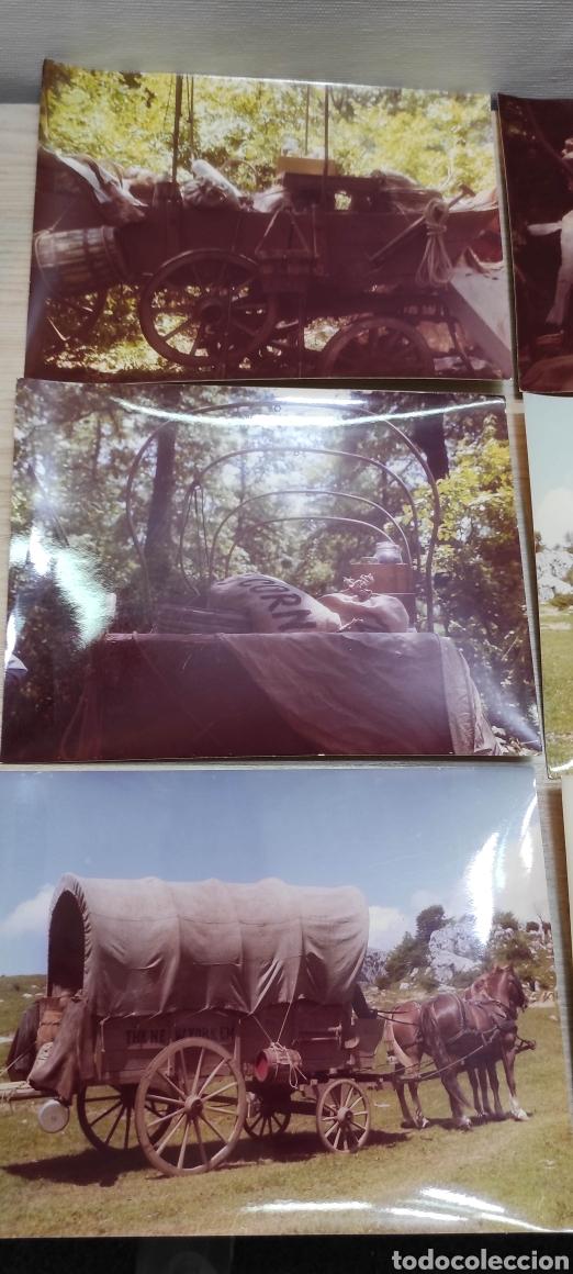 Cine: 24 fotografías rodaje Wester La hora de las pistolas 1968 actores, escenas, atrezzo - Foto 8 - 261927625