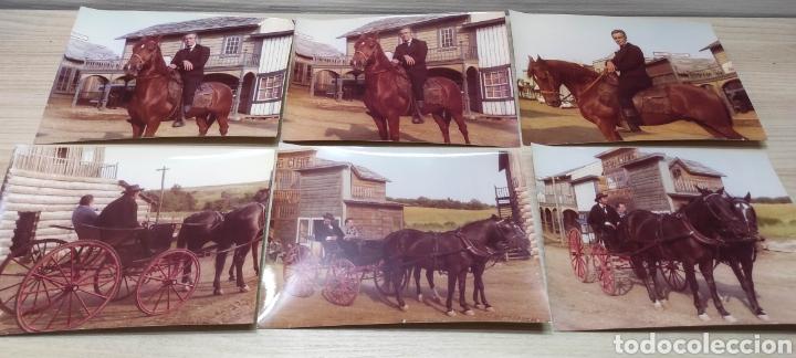 24 FOTOGRAFÍAS RODAJE WESTER LA HORA DE LAS PISTOLAS 1968 ACTORES, ESCENAS, ATREZZO (Cine - Fotos, Fotocromos y Postales de Películas)
