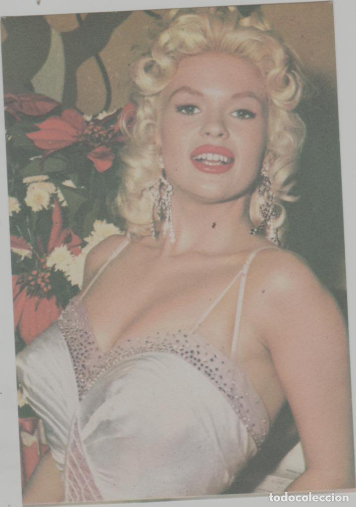LOTE A-FICHA POSTAL CINE JAYNE MANSFIELD AÑO 1965 (Cine - Fotos, Fotocromos y Postales de Películas)