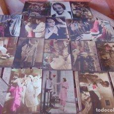 Cine: LOTE DE ANTIGUOS FOTOCROMOS FOTO CROMOS DE PELICULA EN CELULOIDE O SIMILAR. Lote 262303855