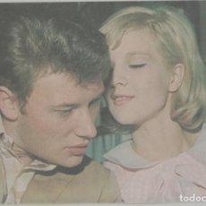 Cinema: LOTE B-FOTO POSTAL CINE AÑOS 60 JOHNNY HALLYDAY. Lote 262361985