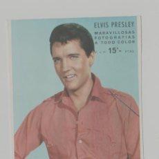 Cinema: LOTE A-FOTO POSTAL PUBLICIDAD ELVIS PRESLEY AÑOS 60. Lote 262388885