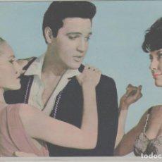Cinema: LOTE A-FOTO FICHA POSTAL PUBLICIDAD ELVIS PRESLEY AÑOS 60. Lote 262389565