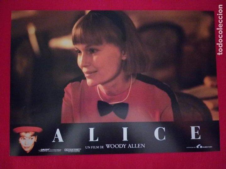 Cine: 12 Fotocromos: Alice. Woody Allen. 1990. Mia Farrow, William Hurt, Alec Baldwin - Foto 2 - 262912880