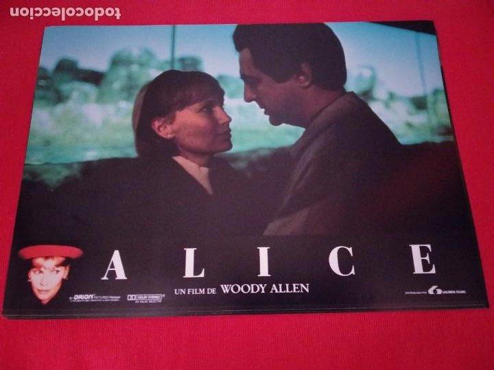 Cine: 12 Fotocromos: Alice. Woody Allen. 1990. Mia Farrow, William Hurt, Alec Baldwin - Foto 3 - 262912880