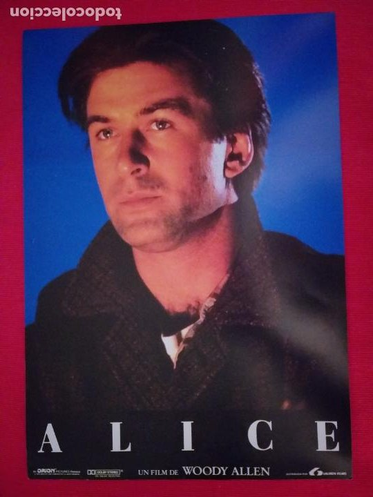 Cine: 12 Fotocromos: Alice. Woody Allen. 1990. Mia Farrow, William Hurt, Alec Baldwin - Foto 4 - 262912880