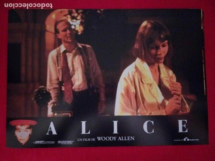 Cine: 12 Fotocromos: Alice. Woody Allen. 1990. Mia Farrow, William Hurt, Alec Baldwin - Foto 5 - 262912880