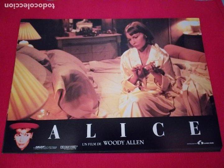Cine: 12 Fotocromos: Alice. Woody Allen. 1990. Mia Farrow, William Hurt, Alec Baldwin - Foto 6 - 262912880