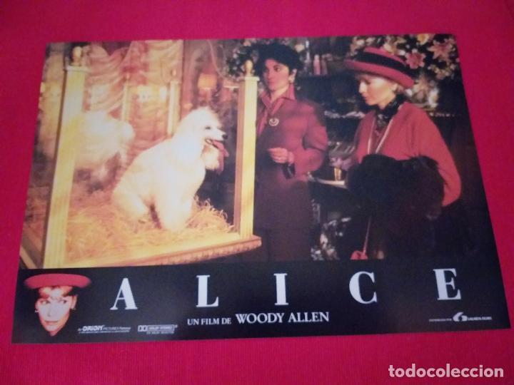Cine: 12 Fotocromos: Alice. Woody Allen. 1990. Mia Farrow, William Hurt, Alec Baldwin - Foto 7 - 262912880