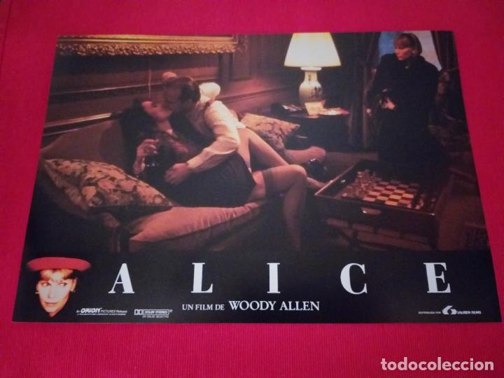 Cine: 12 Fotocromos: Alice. Woody Allen. 1990. Mia Farrow, William Hurt, Alec Baldwin - Foto 8 - 262912880