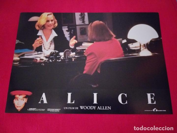 Cine: 12 Fotocromos: Alice. Woody Allen. 1990. Mia Farrow, William Hurt, Alec Baldwin - Foto 9 - 262912880
