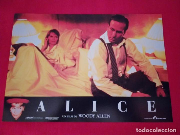 Cine: 12 Fotocromos: Alice. Woody Allen. 1990. Mia Farrow, William Hurt, Alec Baldwin - Foto 10 - 262912880