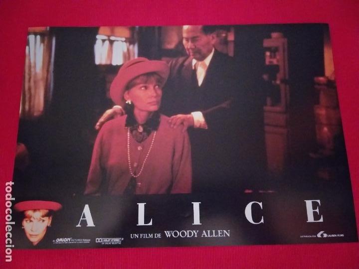 Cine: 12 Fotocromos: Alice. Woody Allen. 1990. Mia Farrow, William Hurt, Alec Baldwin - Foto 11 - 262912880