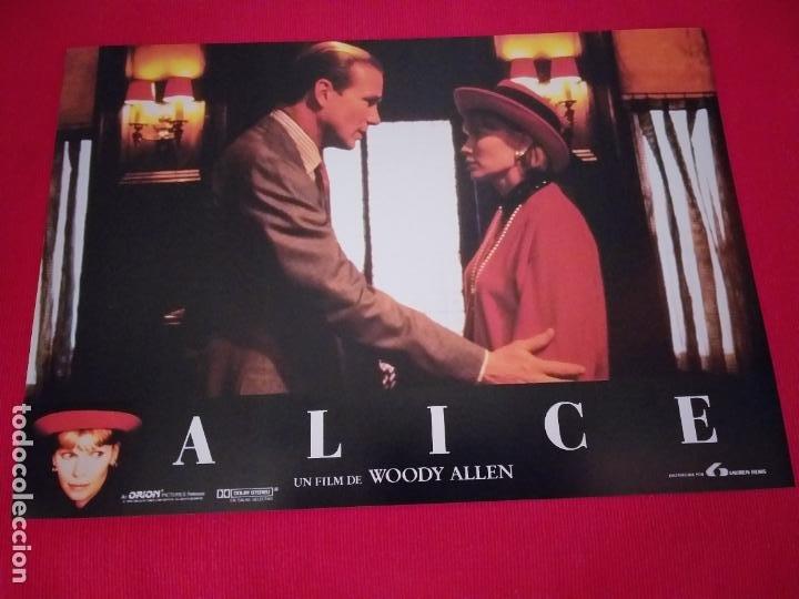 Cine: 12 Fotocromos: Alice. Woody Allen. 1990. Mia Farrow, William Hurt, Alec Baldwin - Foto 12 - 262912880