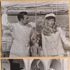 Cine: OPERATION KID · 2 FOTOS ORIGINALES PARA PRENSA · 1967 · JAMES BOND · ORIGINAL PRESS PICTURE. Lote 262926900