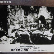 Cine: GREMLINS - FOTO ORIGINAL B/N - JOE DANTE STEVEN SPIELBERG JOHN LOUIE. Lote 262927720