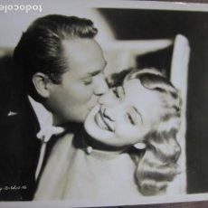 Cine: HOLLYWOOD FILM ACTORS - FOTO ORIGINAL B/N - C.I.CORP. Lote 262929805