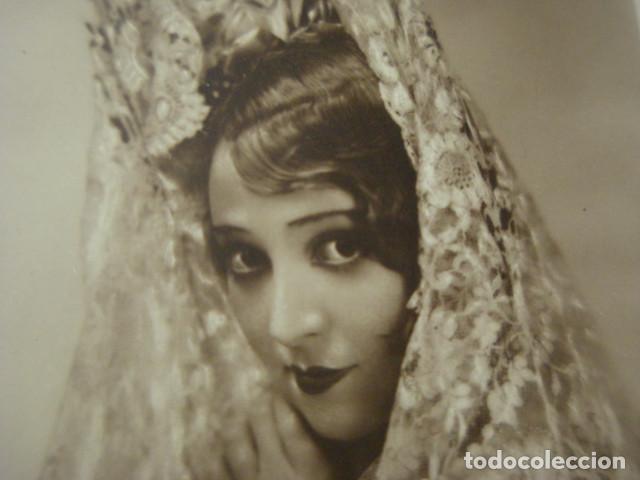 POSTAL FOTOGRAFICA CINE ACTRIZ MAGDE BELLAMY- AÑO 1920 - FOX FILM - (Cine - Fotos y Postales de Actores y Actrices)