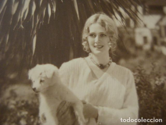 POSTAL FOTOGRAFICA CINE ACTRIZ DOLORES COSTELLO- AÑO 1920 - WARNER BROS FILM - (Cine - Fotos y Postales de Actores y Actrices)