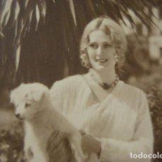 Cine: POSTAL FOTOGRAFICA CINE ACTRIZ DOLORES COSTELLO- AÑO 1920 - WARNER BROS FILM -. Lote 262978705
