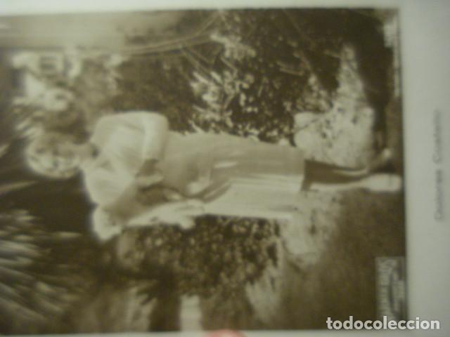 Cine: POSTAL FOTOGRAFICA CINE ACTRIZ DOLORES COSTELLO- AÑO 1920 - WARNER BROS FILM - - Foto 2 - 262978705