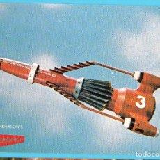 Cine: POSTAL THUNDERBIRDS SERIE CREADA POR GERRY Y SYLVIA ANDERSON EN 1967. ENGALE. ESTA POSTAL ES DE 1986. Lote 263697635