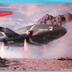 Cine: POSTAL THUNDERBIRDS SERIE CREADA POR GERRY Y SYLVIA ANDERSON EN 1967. ENGALE. ESTA POSTAL ES DE 1988. Lote 263698045