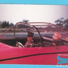 Cine: POSTAL THUNDERBIRDS SERIE CREADA POR GERRY Y SYLVIA ANDERSON EN 1967. ENGALE. ESTA POSTAL ES DE 1988. Lote 263698175