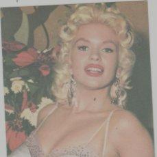 Cine: LOTE A-FICHA POSTAL CINE JAYNE MANSFIELD AÑO 1965. Lote 263712615