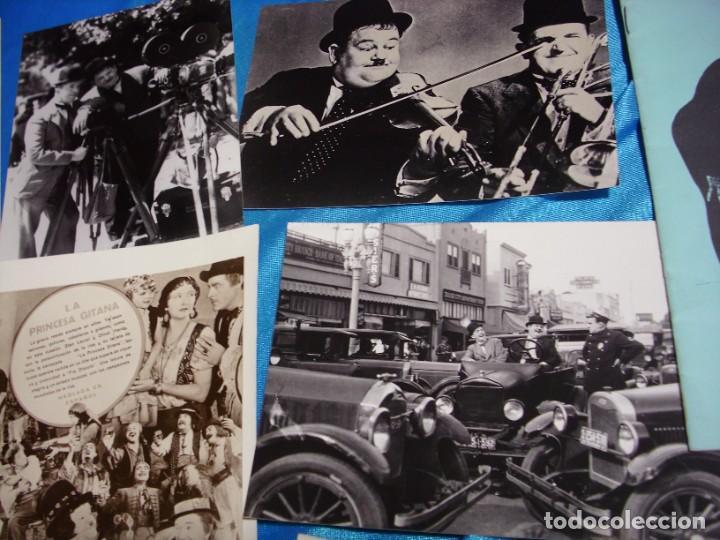Cine: EL GORDO Y EL FLACO EXCELENTE LOTE DE 12 ARTICULOS FOTOS ETC-IMPORTANTE LEER DESCRIPCIO - Foto 6 - 264245612
